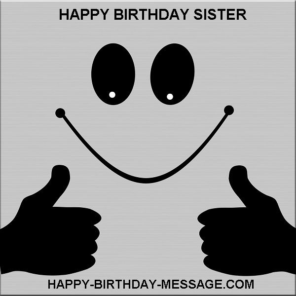 Happy birthday best sister in the world