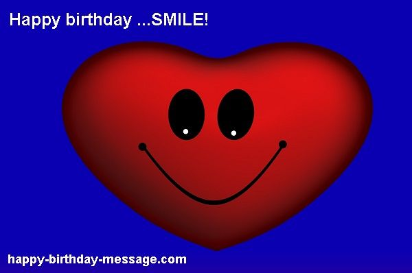 Happy birthday smile message sms image 4 husband