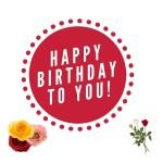 Happy birthday to you my friend