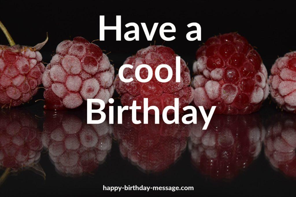 happy birthday cool birthday